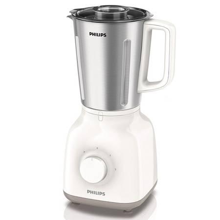 飞利浦(PHILIPS)料理机 HR2107/00 料理机家用榨汁机果汁机 不锈钢杯身