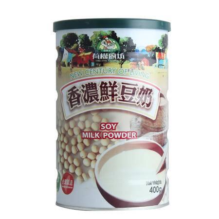 专柜版台湾有机厨坊香浓鲜豆奶粉