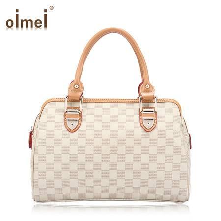 意大利OIMEI 欧美新款2014时尚休闲复古白领欧美手提包包 高贵女包  2598