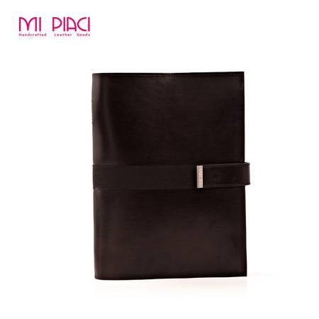 Mi Piaci职人新锐高档真皮大容量笔记本正品真皮大容量(小)
