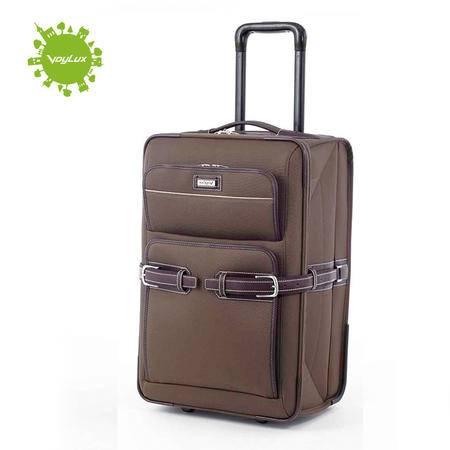 Voylux伯勒仕 Retro复古都会 啡色26寸可折叠旅行箱拉杆箱行李箱