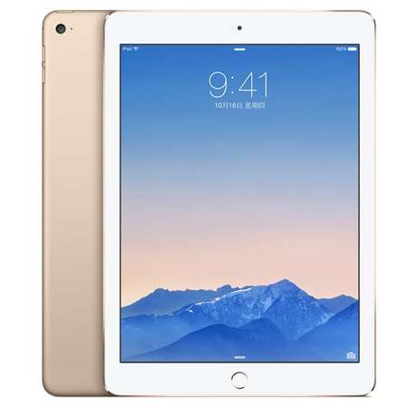 Apple iPad Air 2 MH0W2CH/A WiFi版 9.7英寸平板电脑 16G(金色)