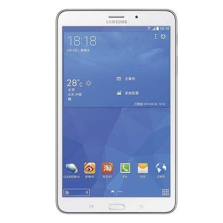Samsung/三星 GALAXY Tab4 SM-T331C 3G全网通 16GB平板(白色)