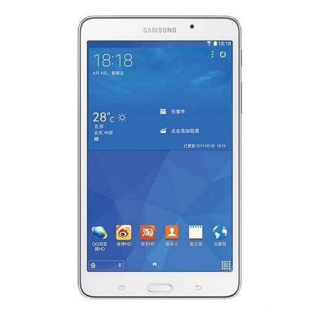 分期Samsung/三星 GALAXY Tab4 SM-T231联通-3G 8GB 平板通话(白色)
