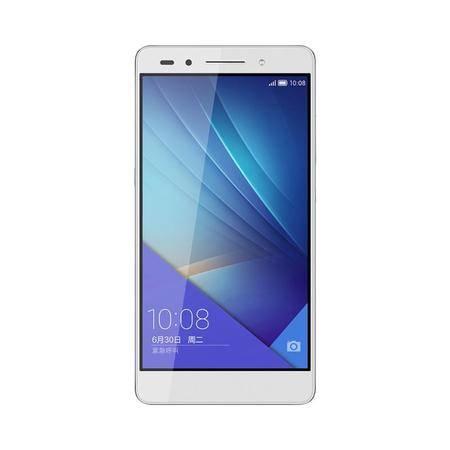 Huawei/华为 荣耀7 双卡双待双通 移动/联通双4G版 16GB存储(冰河银)