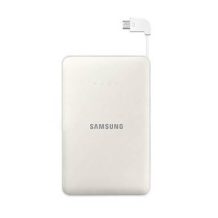 三星原装移动电源大容量手机充电宝8400mA通用 白色
