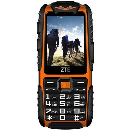 ZTE/中兴 L628 移动/联通2G 三防 老人手机 双卡双待(橙色 黑色 军绿色)