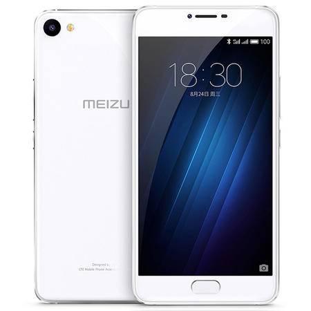 魅族 魅蓝U10 32GB 全网通公开版  移动联通电信4G手机 双卡双待 银色
