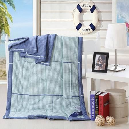 优然之家家纺 URAN 150*200cm全棉清爽夏凉被空调被芯-格林雅致