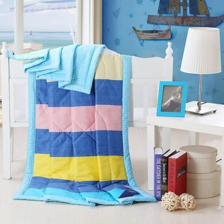优然之家家纺 URAN 200*230cm全棉清爽夏凉被空调被芯-海滩假日