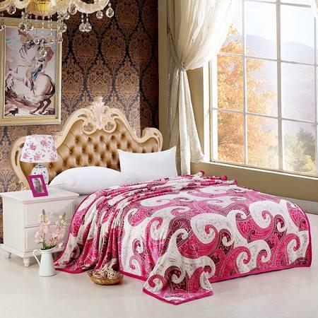 优然之家家纺URAN  超柔卡通加厚亲肤毯毛毯毯子-爱沙尼亚200*230cm