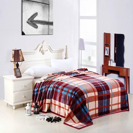 优然之家家纺URAN  超柔卡通加厚亲肤毯毛毯毯子-佛罗伦萨200*230cm