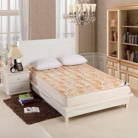 优然之家家纺URAN 1.5m立体雪貂绒加厚保暖床垫