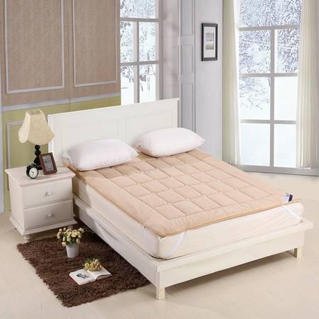 优然之家家纺URAN 1.5m海藻绒加厚保暖床垫