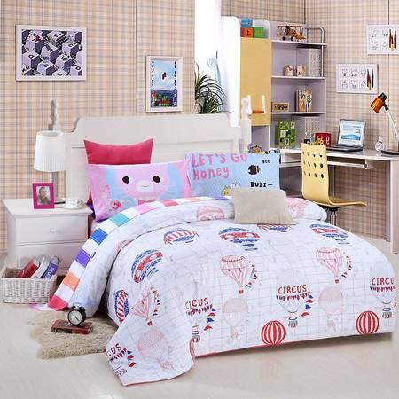 优然之家家纺URAN 1.5米床全棉斜纹环保四件套 套件-飞屋环游记