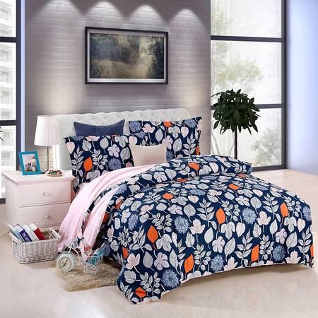 优然之家家纺URAN 1.5米床全棉喷气斜纹四件套 套件-约定