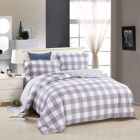 优然之家家纺URAN 1.8米床全棉斜纹环保四件套 套件-休闲生活
