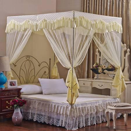 优然之家家纺URAN 宫廷坐床式蚊帐-轻歌曼舞1.5米床
