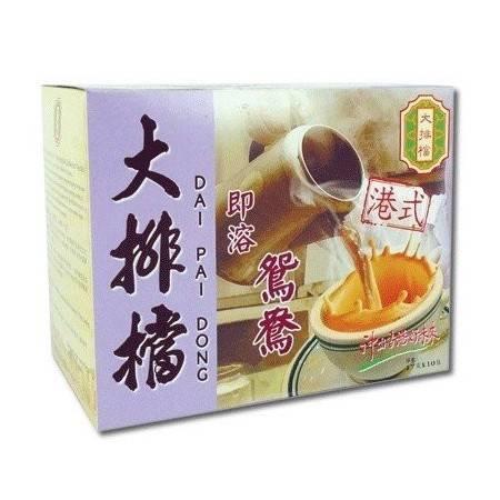 大排档 三合一即溶鸳鸯 正宗的港式鸳鸯 浓浓奶茶+咖啡味 170g/盒(中国香港) 1盒10小包