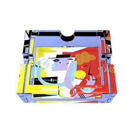 格拉迪奥 德国进口 水晶玻璃 水晶方缸(烟灰缸) 友人款式(全球限量5000个) 206001