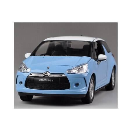 1-24 2010 雪铁龙 DS3 法国时尚小车汽车模型 车模 玩具