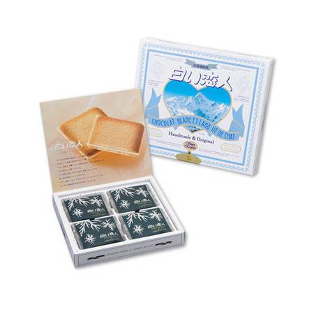 北海道 白色恋人白巧克力夹心饼干12枚  一周到货一次,保证最新鲜