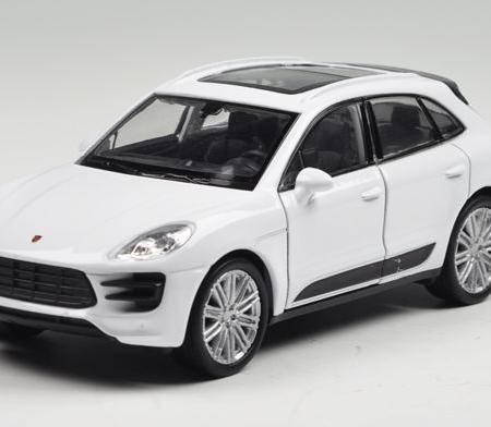 1-36保时捷Macan Turbo 仿真合金玩具车模 惯性车 回力车