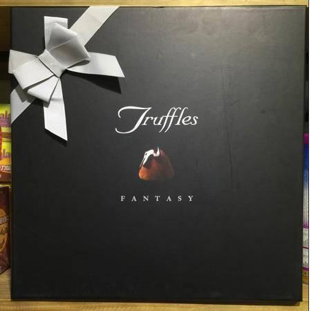 比利时进口 德菲丝 松露巧克力 黑色传统系列 礼盒1000g