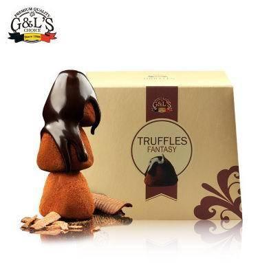比利时进口 德菲丝 松露巧克力 经典香醇系列 800g