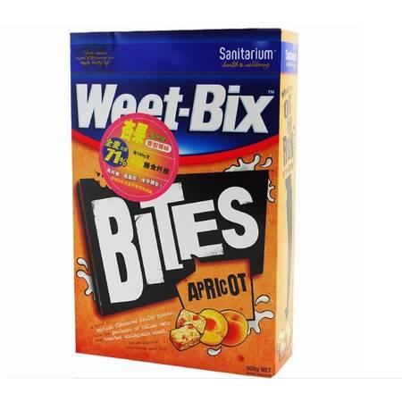澳洲原装进口 Weet-bix 新康利维他麦营养麦片 500g 杏果味