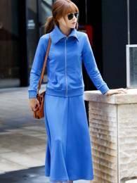 2014秋季新款韩版休闲气质卫衣套装