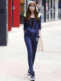 2014新款高品质休闲运动卫衣套装