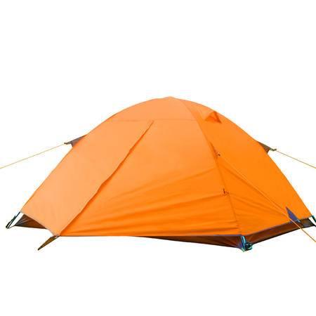 高品质双人铝杆帐篷 超强防雨帐篷 户外2人铝杆双层帐篷