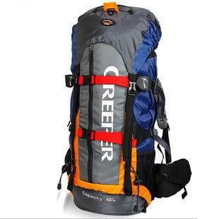户外装备登山徒步野营双肩包60L大容量背包