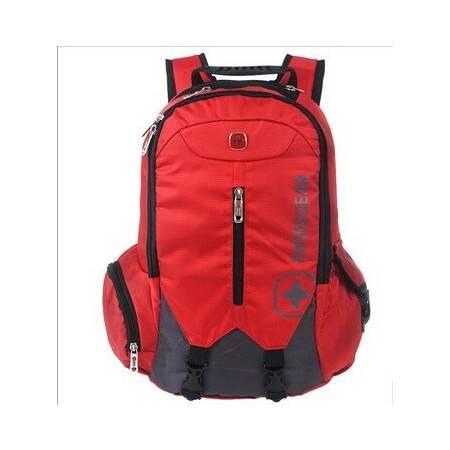 新款瑞士军刀SWISSGEAR 休闲背包电脑包男女双肩包背包1568多色