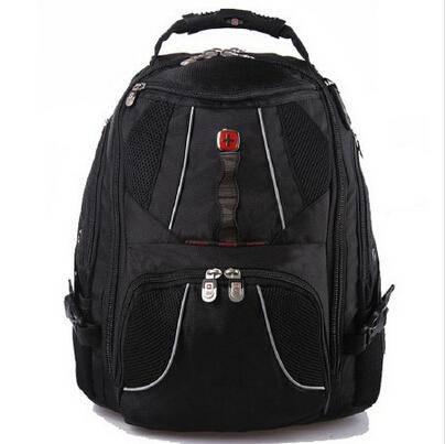 瑞士军刀 SWISSGEAR 超大容量15.6寸 旅行包霸气笔记本双肩包