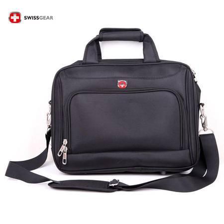 瑞士军刀包 SWISSGEAR 15寸 笔记本电脑公文包 单肩包 旅行必备