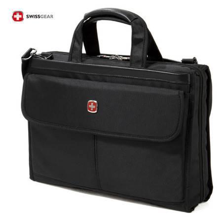 瑞士军刀包 SWISSGEAR 15.6寸 多功能单肩电脑包 手提公文包 商务款