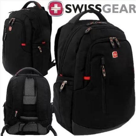 新款瑞士军刀商务15.6寸笔记本电脑包男商务电脑双肩背包