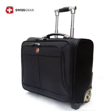 瑞士军刀 2014款男包 SWISSGEAR商务系列16寸牛津布拉杆箱 登机箱