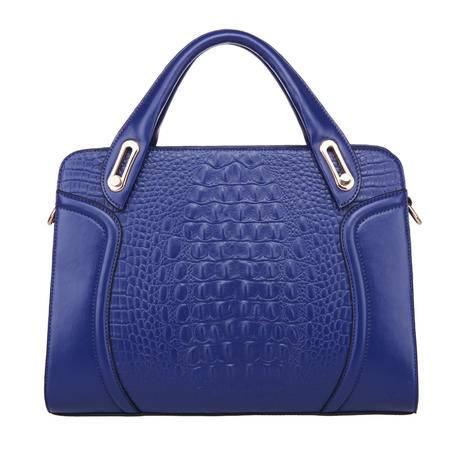 复合皮欧美复古时尚鳄鱼纹手提包品牌女包潮包多色可选