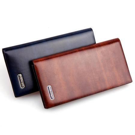 新款 男士长款钱包 卡包 皮夹 新款促销 低价