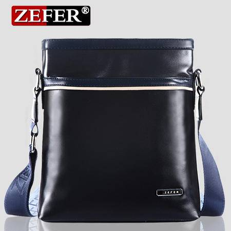 ZEFER新款男包 单肩包斜挎包 男士商务休闲韩版撞色包包