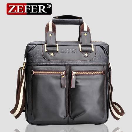 ZEFER 2014韩版男式手提包 休闲单肩斜挎包提包