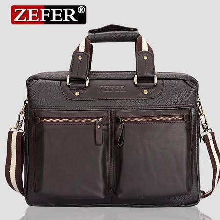 ZEFER男士休闲时尚单肩 斜挎包 手提包男式包包