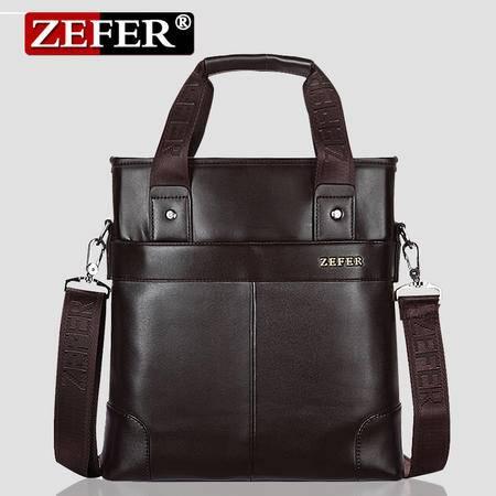ZEFER正品男包 单肩斜挎手提包商务休闲男士公文包精品包