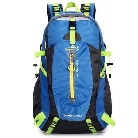 2015新品大容量40L户外包情侣双肩背包防水登山包旅行包