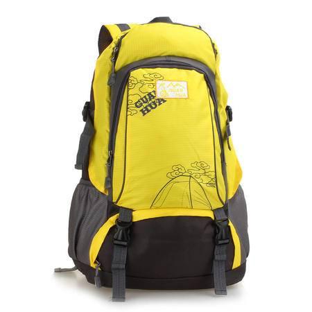 新款40L尼龙运动旅行包 时尚大容量户外登山包 休闲双肩学生背包
