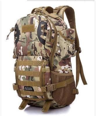 新款3P战术双肩包 户外登山背包迷彩超大容量男女旅行包
