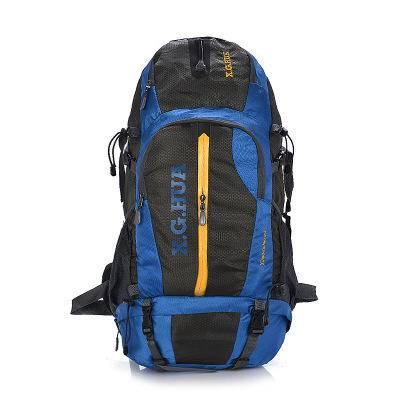 新款50L登山包 户外双肩背包 正品男女旅游防水牛津布背包